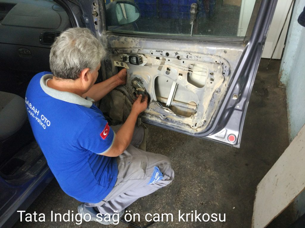 Tata İndigo Cam Kriko Tamiri