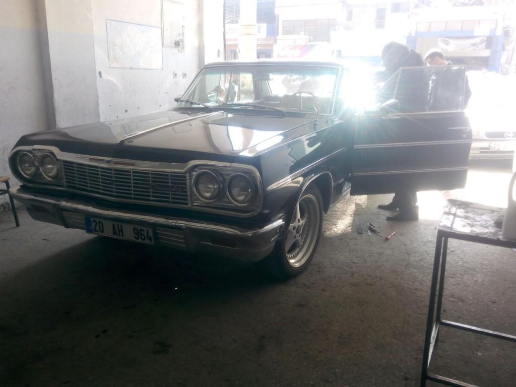 64 impala cam krikosu servisimizde.