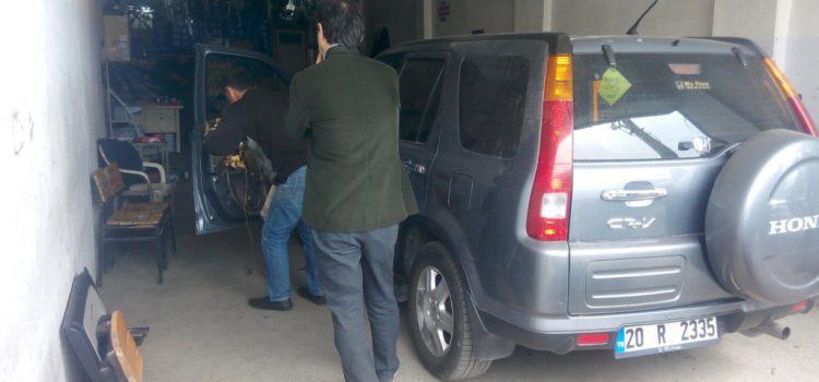 Honda CRV cam kriko