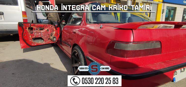 Honda İntegra Cam Kriko Tamiri