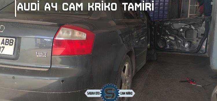 Audi A4 Cam Krikosu Tamiri