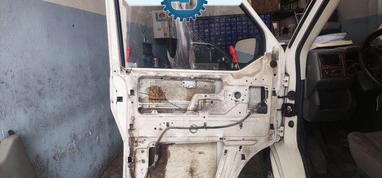 VW Transporter T4 Manuel Cam'dan Otomatik Cam'a Çevirme