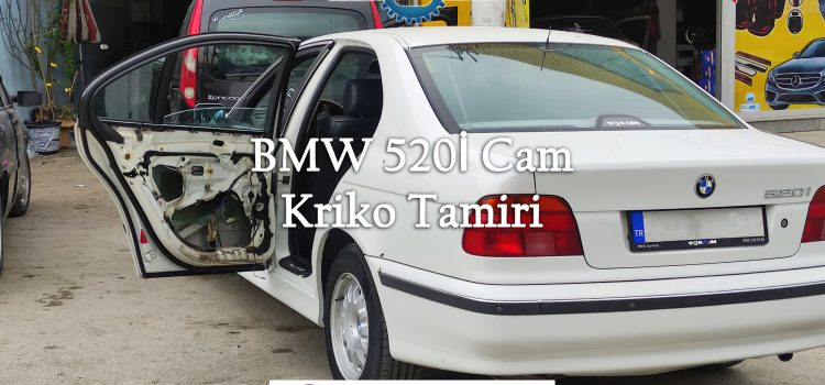 BMW 520İ Cam Kriko Tamiri